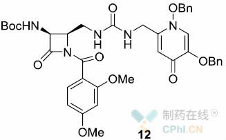 2,4-二甲氧基苄基(DMB)的脱除及副产物12
