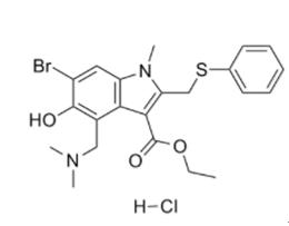 盐酸阿比多尔结构式