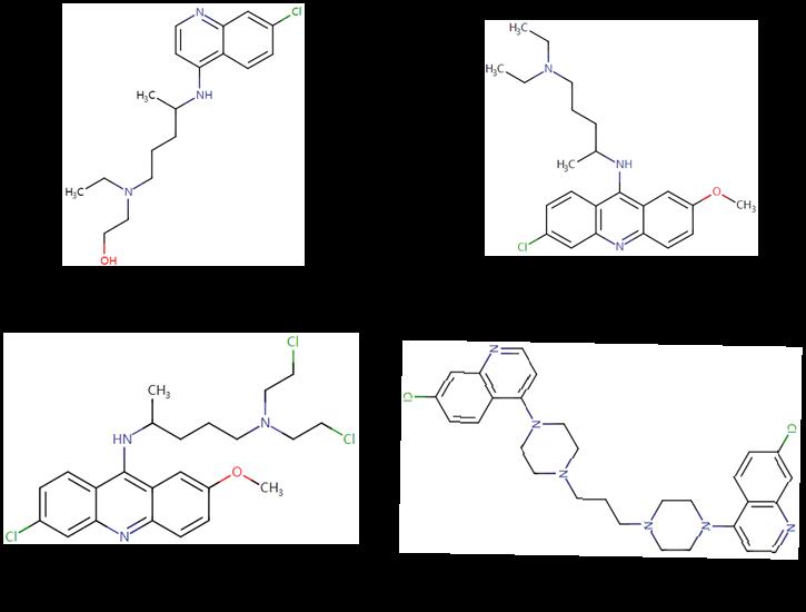 Figure 2  Drug Molecules Containing
