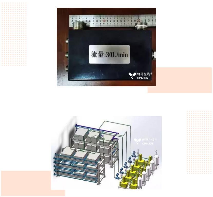 微反应主反应器外观及布置效果