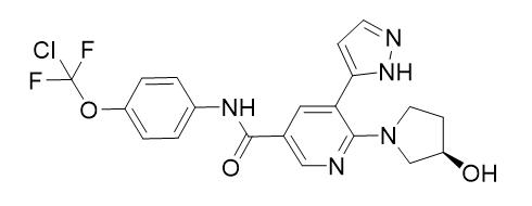 asciminib结构式